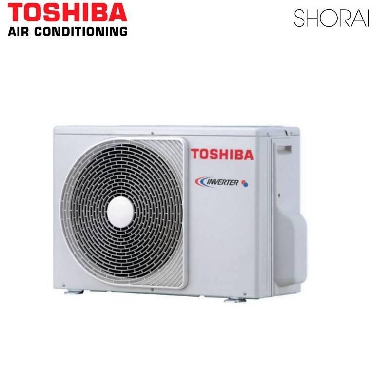 Climatiseur Toshiba SHORAI Edge Dual Split Climatiseur 2.5 kw + 3.5 kw A ++