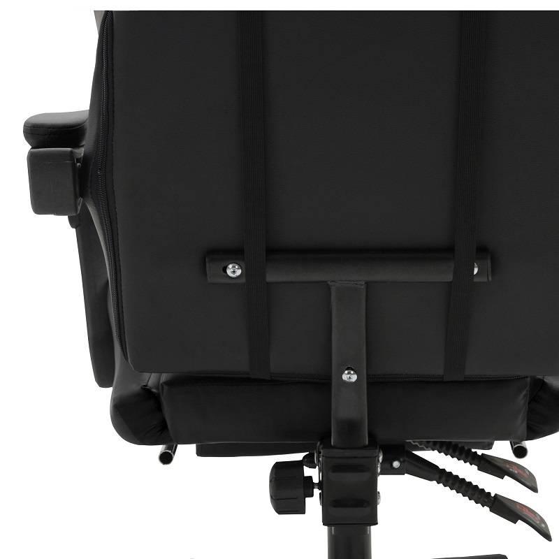Chaise de jeu ergonomique de style course Herzberg