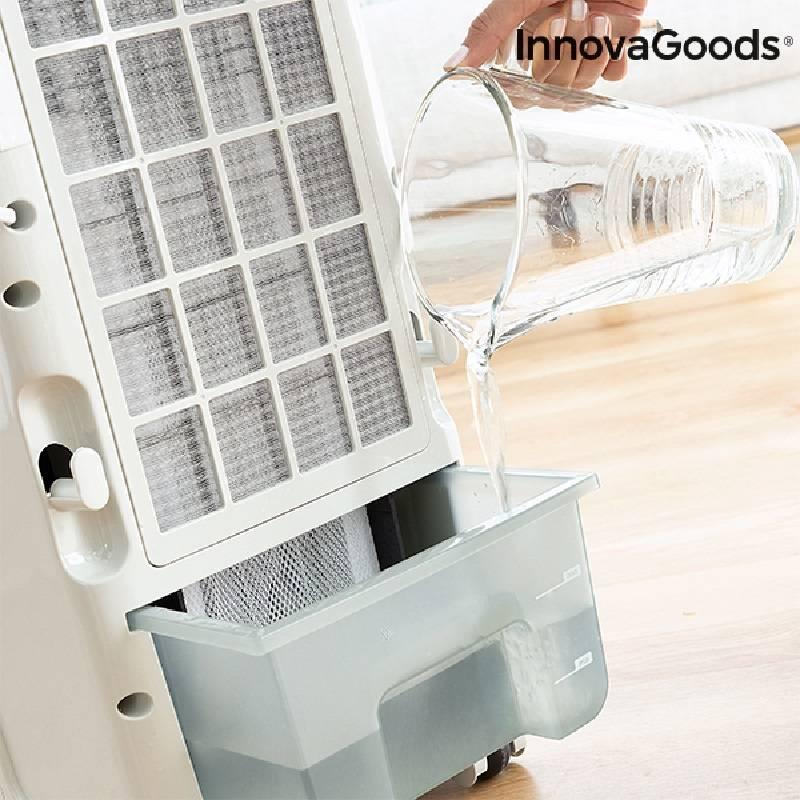Climatiseur Évaporateur Portable InnovaGoods 4,5 L 70W Gris