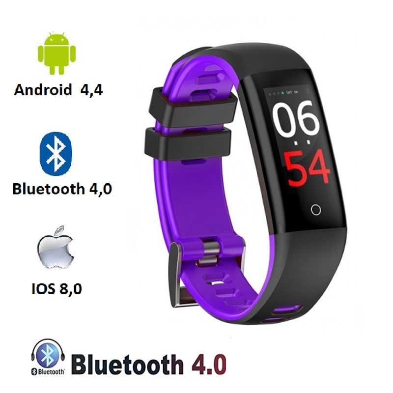 Montre fitness V-5262 violet