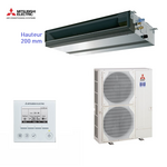 Climatiseur gainable Mitsubishi Electric ensemble SEZ-KD71VAQ + SUZ-KA71VA