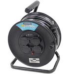 Enrouleur électrique 50 mètres 3 G 1.5 mm 4 prises