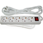 Rallonge électrique avec interrupteur 3 mètres x 1 mm