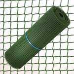 Tissu en plastique carré 0,5 cm.x 1 rouleau de mètre vert 25 mètres