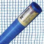Rouleau de maille en plâtre bleu 50 mt.x 1 mètre.S'allume 10x10 mm.