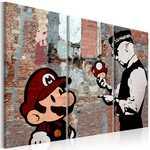 Tableau - Banksy: Warning