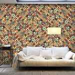 Papier peint XXL - Rainbow Mosaic