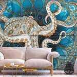Papier peint - Zen Octopus