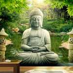 Papier peint - Buddha's garden