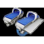 Waterflex Kit de 2 pédales à clapet double vitesse ADS
